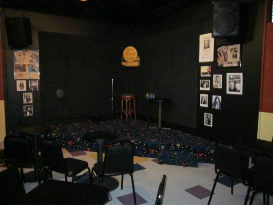 Reading Comedy Outlet: Comedy Outlet: View of the Stage