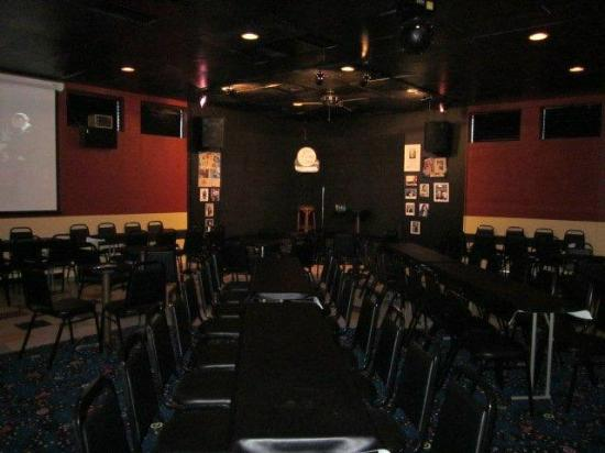 Reading Comedy Outlet: Comedy Outlet: Back of Room