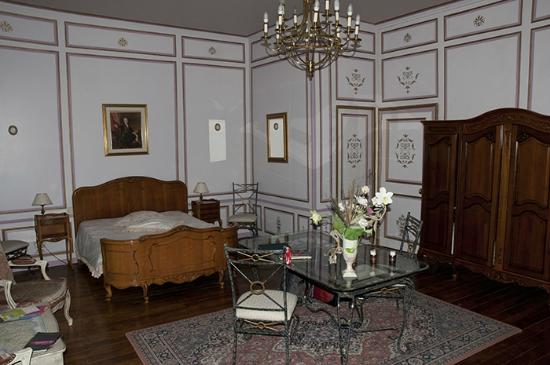 Château de Labessiere : One end of the Park Room