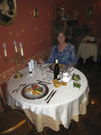 Château de Labessiere : Dinner at the Chateau