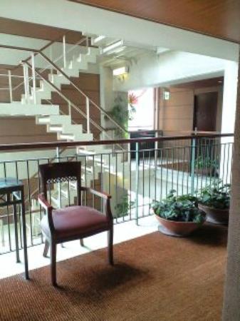 Gotanda Arietta Hotel & Trattoria : エレベーターを出たところ。
