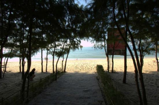 Sunny Beach Resort: Pathway to beach
