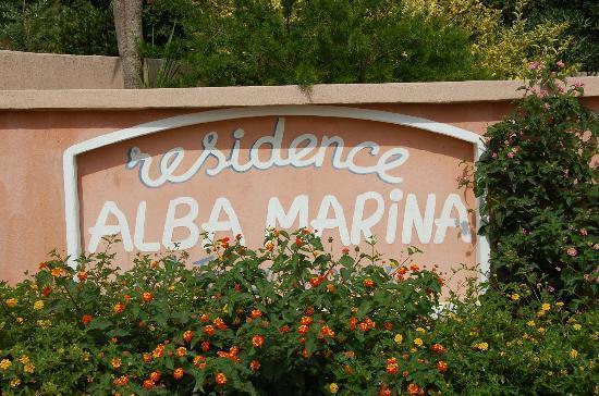 Résidence Alba Marina : Entrée du complexe