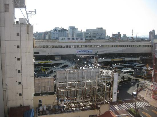 Hotel Sunroute Utsunomiya: 部屋からの眺め