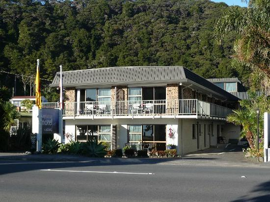 Bay Sands Seafront Studios: Bay Sands Motel, Bay of Islands, NZ