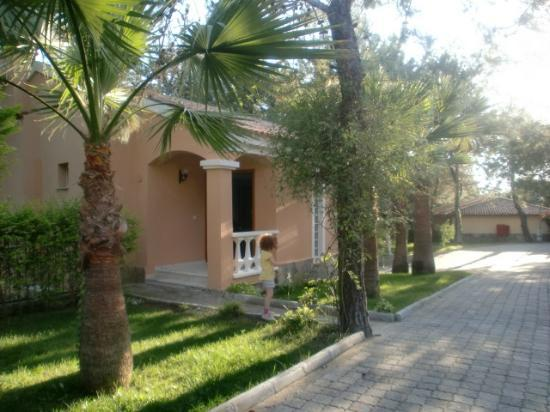 Sogucak, Turcja: Front of our villa