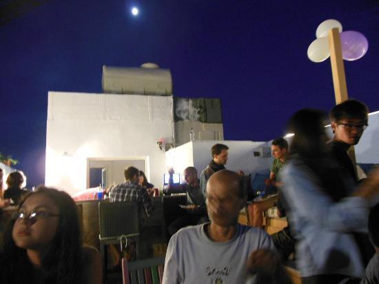 Hostel Malti: Rooftop Bar