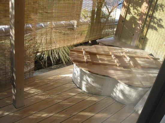 Hotel Sagi no Yu: 部屋付きの露天風呂