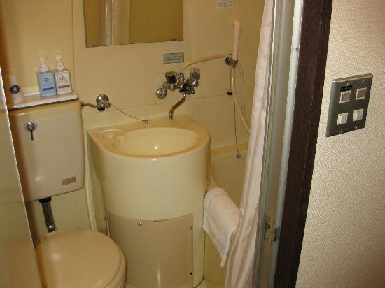 Maebashi Longsand Hotel: ユニットバス