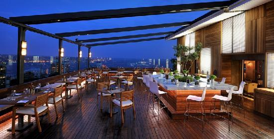 cloud 7 restaurant bar terrace stanbul restoran