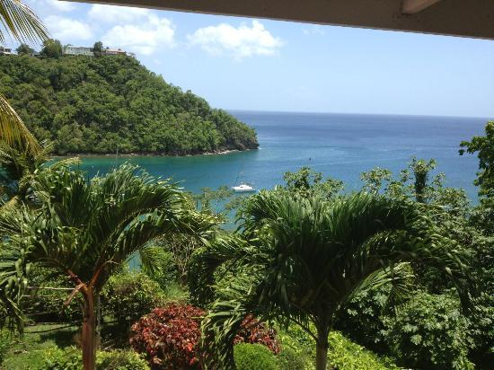 Oasis Marigot: View from balcony
