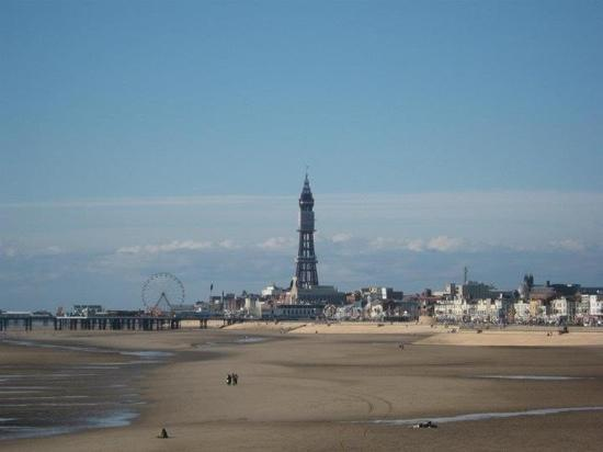 The Blackpool Tower: Blackpool tower from south pier