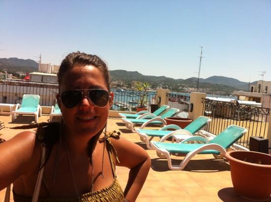 Casa Maria Apartments : roof top bar !!