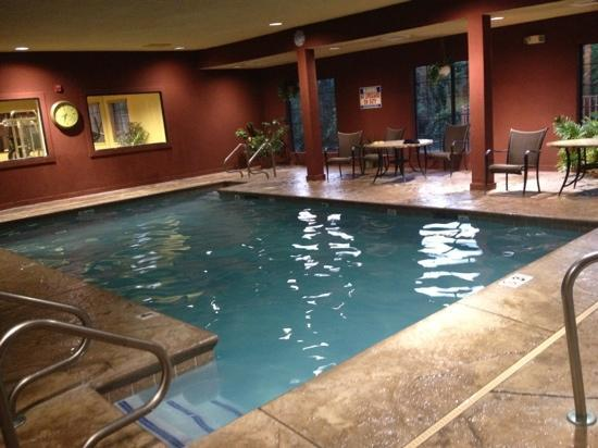 Super 8 Troy: pool area