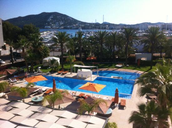 Aguas de Ibiza: Blick Balkon