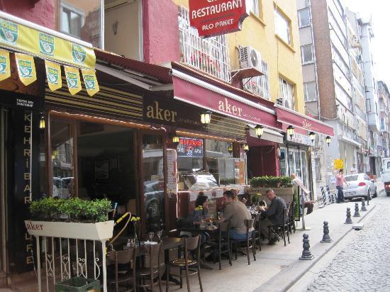 Aker Cafe Restaurant: front of Aker restaurant