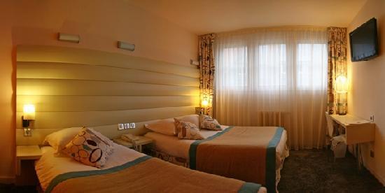 BEST WESTERN Hotel Graslin a Nantes : chambre triple