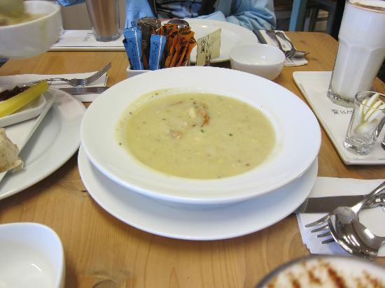 Seagars Cooking School and Cafe: Soup of the Day