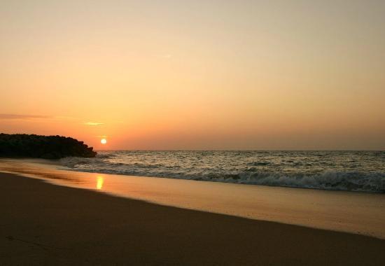 Hotel Terminus: Praia ao por do sol