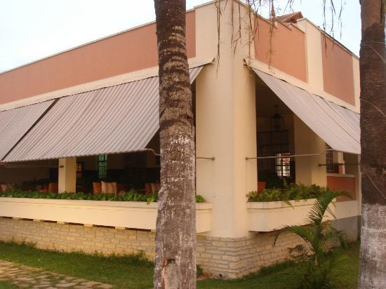 Hotel Terminus: hotel visto do jardim