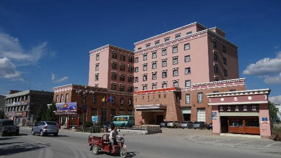 Shiner Hotel: Blick auf das Hotel