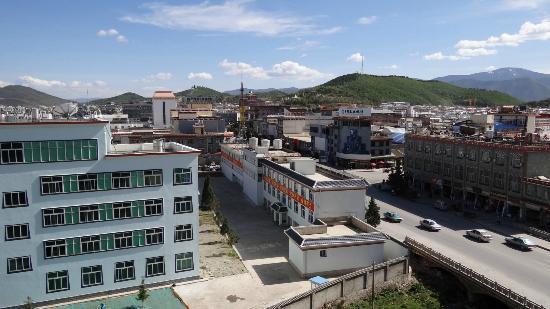 Shiner Hotel: Blick auf die Stadt vom Hotel aus