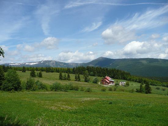 Horsky hotylek Kladenka: Great scenery