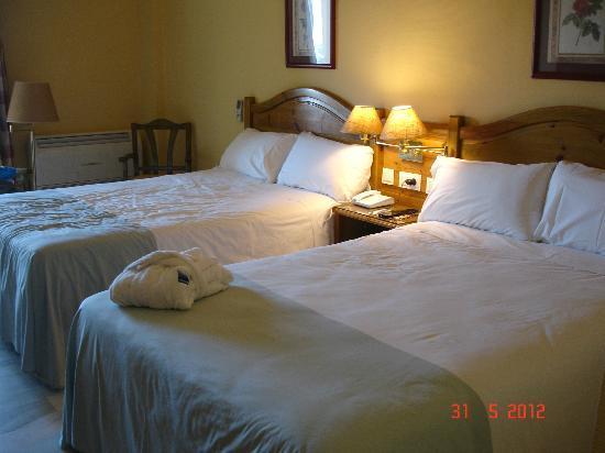 Tryp Malaga Guadalmar Hotel: Slaapkamer
