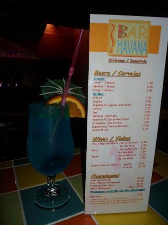 Bar Havana: Blue Lagoon