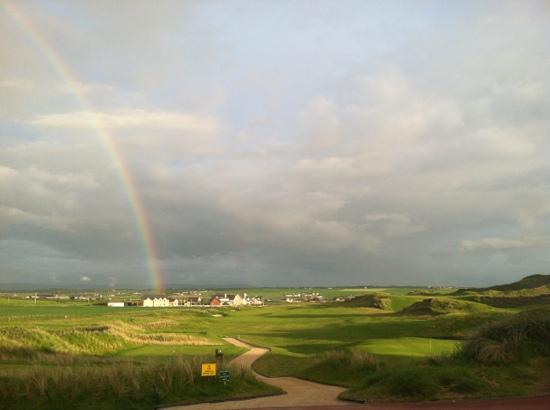 The Rainbow ends at The 19th Lodge in Ballybunion