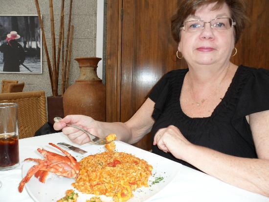 La Plaza Ristorante Italiano: Lobster Risoto
