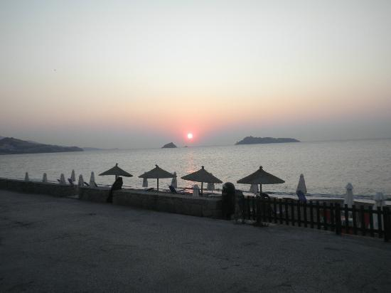 Blue Sky Hotel: Petra Beach Sunset