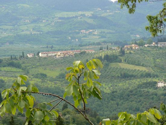 Le Cannelle : View from Fiesole, NOT from the building