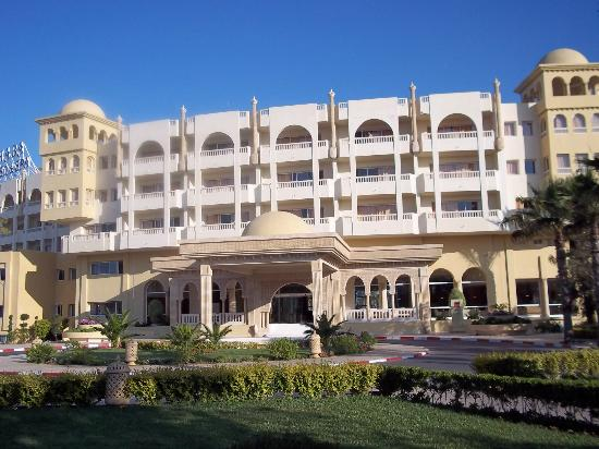 Hotel Palace Hammamet Marhaba: front of the hotel