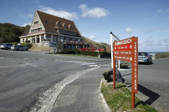 Hotel Restaurant  Ef Bf Bd Vierville Sur Mer Calvados