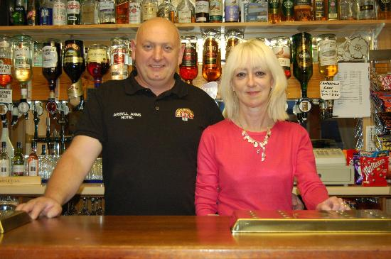 The Argyll Arms: New owners Lynn & Malcolm