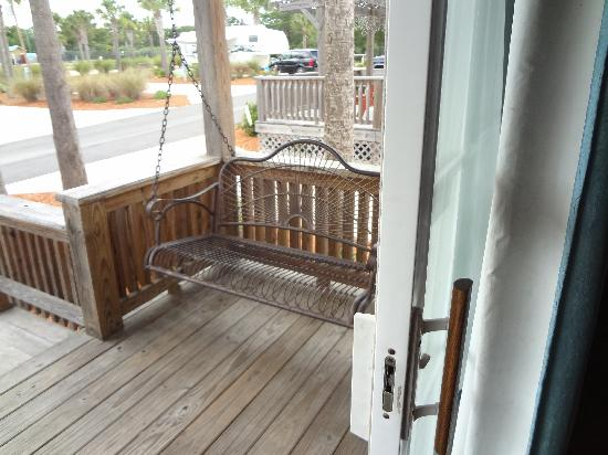 Carrabelle Beach, an RVC Outdoor Destination: porch swing