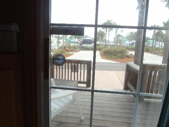 Carrabelle Beach, an RVC Outdoor Destination: view out your front door