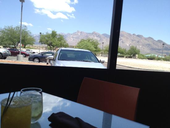 Harvest Restaurant: View from the patio area