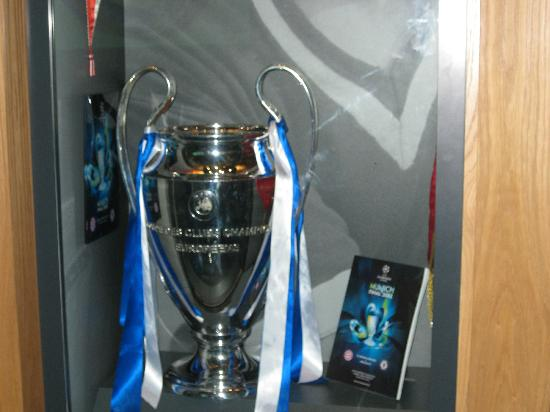 Millennium Copthorne Hotels At Chelsea Football Club Champions League Trophy To Be Viewed