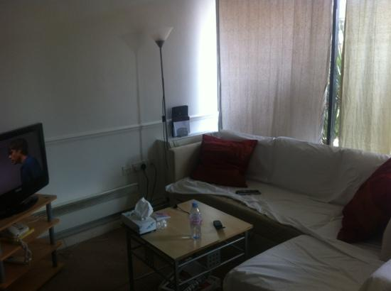 Studio apartment dirty sofa with stains picture of - Couch for studio apartment ...