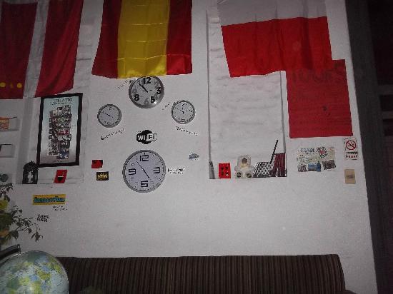Red hostel: Recepciòn