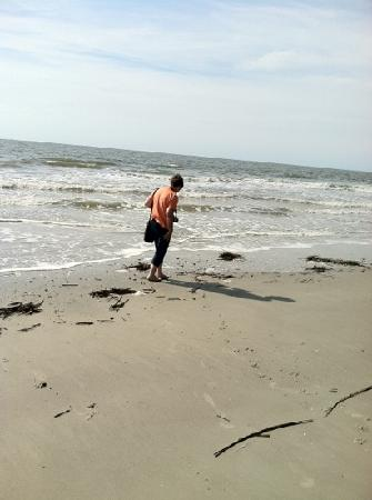 Hunting Island State Park: my beach girl