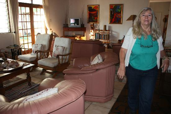 Igwalagwala Guest House : Lounge
