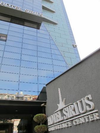 Hotel Sirius Entrance
