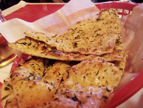 India Garden: Garlic bread