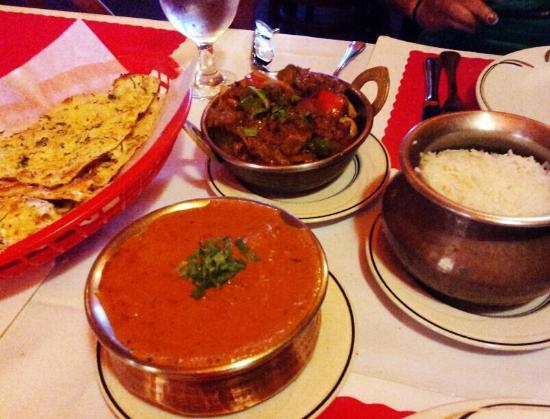 India Garden: Chicken makasala?...and a lamb dish