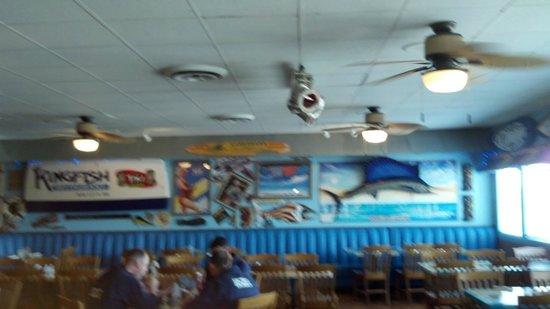 Dockside: inside dining area