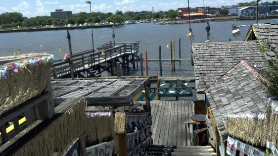 Dockside: rear seating and dock