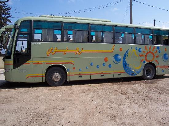 Algiers Province, Algeriet: Bus from Setif to Algiers
